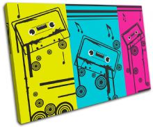 Cassettes Music Illustration - 13-1874(00B)-SG32-LO